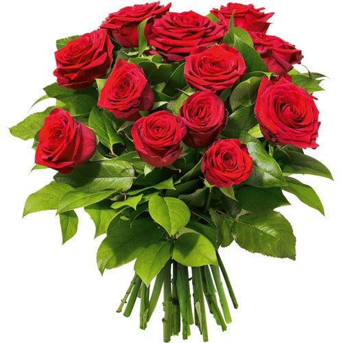 Bouquet de roses LOVE