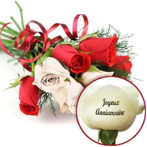 Roses Marquees Anniversaire Florajetcom