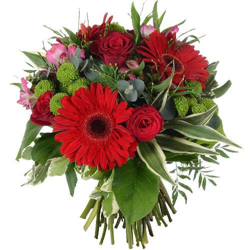 Bouquet rond HEART