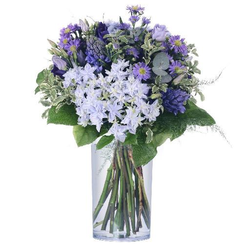 Bouquet rond BLUE BERRY