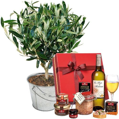 Cadeaux Gourmands OLIVIER + COFFRET SAVEURS GASCONNES
