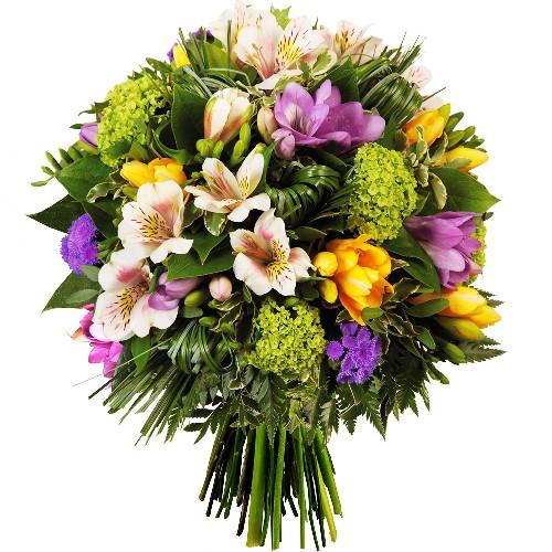 Bouquet rond L'ETOILE