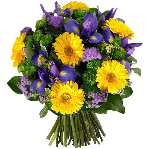 Bouquet rond CLAIR DE LUNE