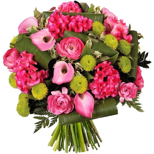Bouquet rond NYMPHE