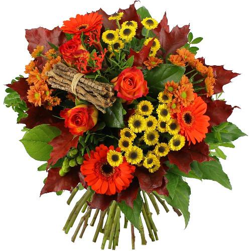 Bouquet rond ECLAT D'AUTOMNE