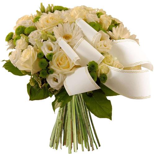 Bouquets deuil DOUCEUR INFINIE