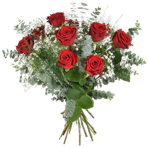 Bouquet de roses PASSIONATA