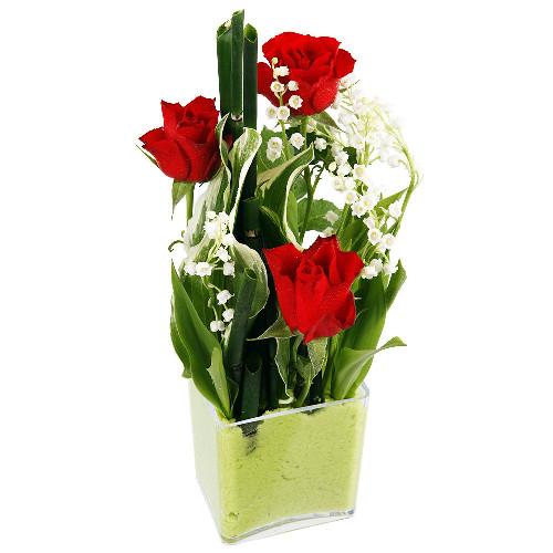 Composition broceliande livraison express florajet - Ou planter du muguet ...