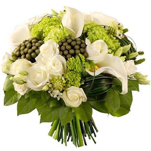 Bouquet rond MERINGUE