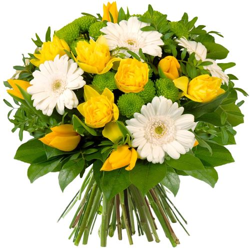 Bouquet rond EGLANTINE