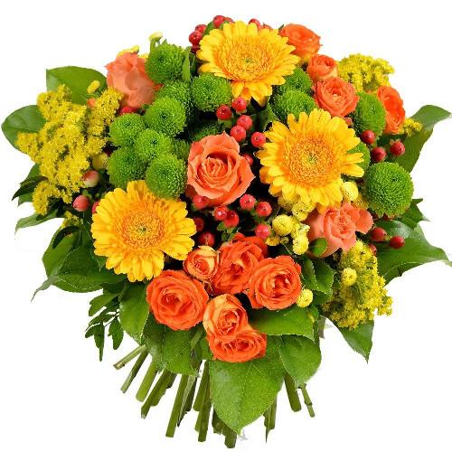 Bouquet rond CHANT D'AUTOMNE