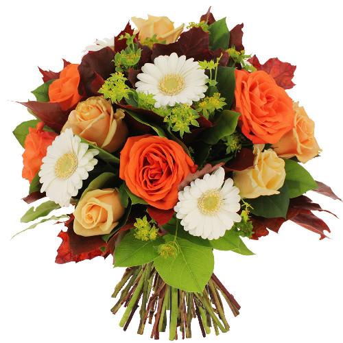 Bouquet rond EQUINOXE D'AUTOMNE