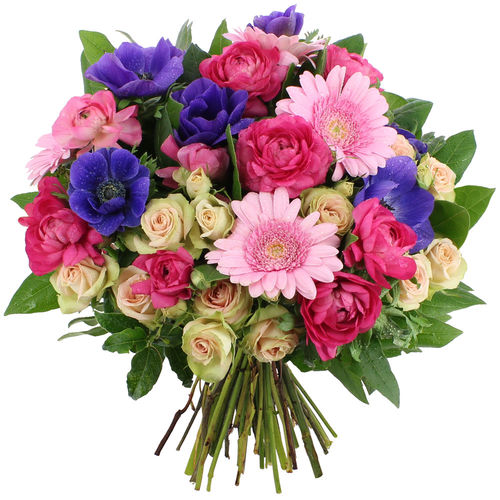 Bouquet rond FEU D'ARTIFICE