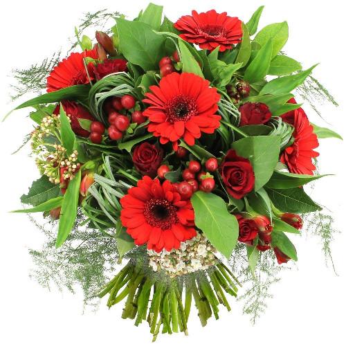 Bouquet rond POESIE