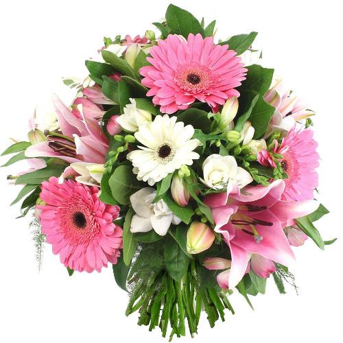 Bouquet rond DUCHESSE