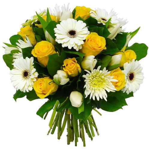 Bouquet rond BONNE FETE
