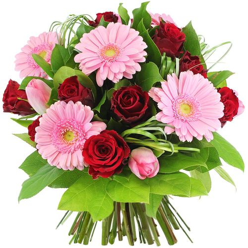 Bouquet rond ALIZARINE